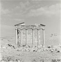 temple, palmyra, syria by lynn davis