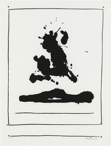 untitled from new york international by robert motherwell