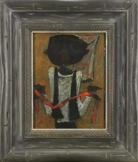 man with tie by richards ruben