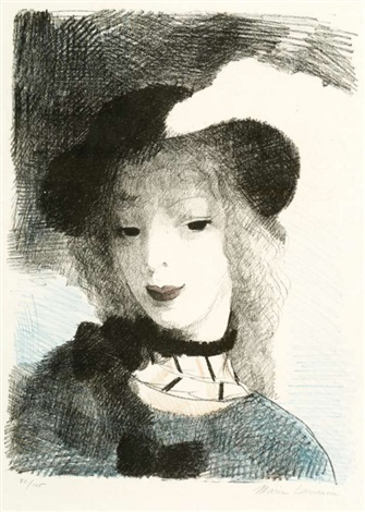 elvire by marie laurencin
