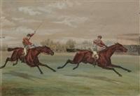 l'arrivée de la course by v.j. cotlisson