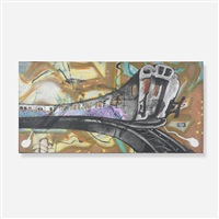 untitled (nyc train) by sharp (aaron sharp goodstone)