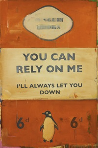 you can rely on me - i'll always let you down by harland miller
