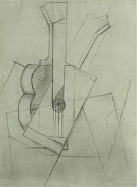 la guitare by juan gris