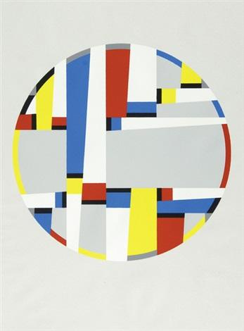 letzte werke portfolio of 3 by fritz glarner