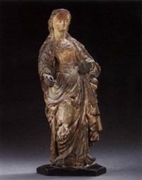 female saint by flemish school-malines (17)