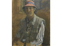 portrait of john richardson by ken howard