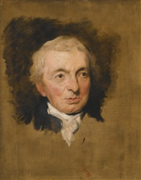 portrait of prince hoare (1755-1834) by thomas lawrence