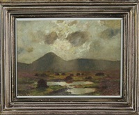 landscape - west of ireland by julius olsson