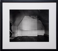 camera obscura image of the sea on the attic by abelardo morell