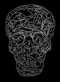 crâne trépané by les riches douaniers
