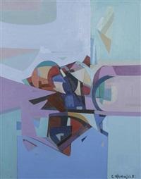 composition abstraite by carlo marangio