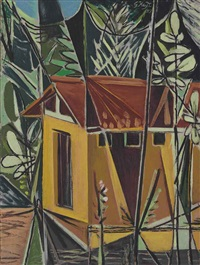 untitled (house) by george keyt