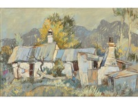 cottages - kirstenbosch, cape by gregoire johannes boonzaier