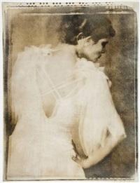 white dress by joy goldkind