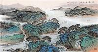 江南春晖图 by xu jianming