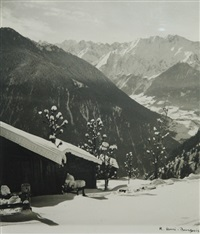 verbier sous la neige by kinette hurni-bourgeois