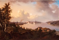 view of stockholm by joseph magnus stack
