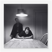 untitled (from the kitchen table series) by carrie mae weems