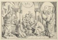 beschneidung jesu (from der bethlehemitische weg) by josef von führich