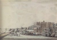 lady teignmouth's garden house on the banks of the hooghly, calcutta by hubert cornish