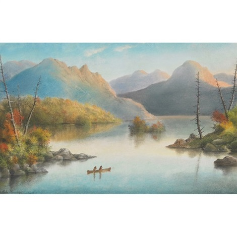 lake kunaneee bonnechere r by alfred worsley holdstock