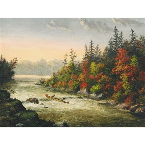 shooting the rapids by alfred worsley holdstock