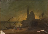 on the nile by francois germain leopold tabar(t)