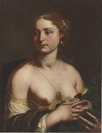 a courtesan by francesco rosa