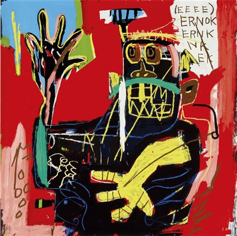 untitled ernok by jean michel basquiat