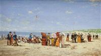 strandleben by cornelis koppenol