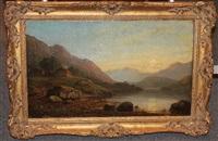 meeresbucht von ross-shir loch (schottland) by george f. buchanan