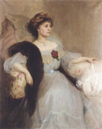 portrait of a lady by florence engelbach