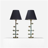 lamps (pair) by pepe mendoza