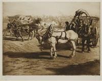 le cheval blanc by edgar chahine
