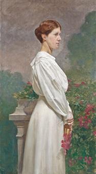fehérruhás lány (irene tochter) by j. karl peyfuss