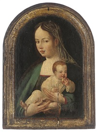 the virgin and child by jan van scorel