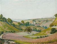 paysage bordelais by charles lacoste