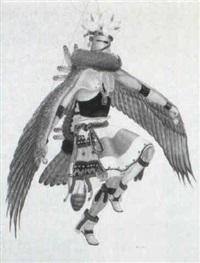 kwa (eagle kachina) by percy tsiste sandy