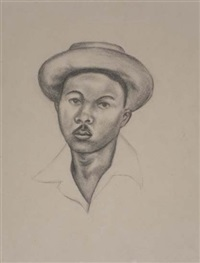 untitled (portait #2) by whitfield lovell