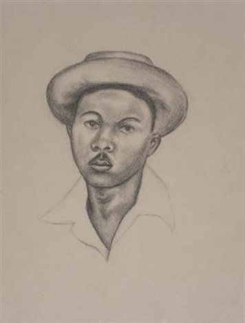 untitled portait 2 by whitfield lovell
