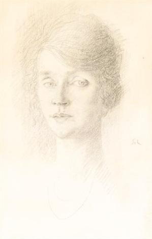 portrait of a lady by augustus edwin john