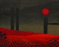 toalha vermelha by nemesio antunez