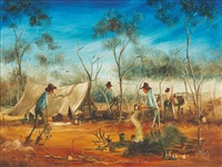 in the mustering camp by max mannix