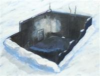 hitler's bunker by dexter dalwood
