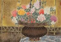 玫瑰盆 by jiang jianlin