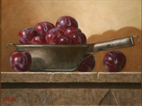 pewter pots & plums by paul kavanagh