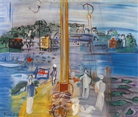 cowes by raoul dufy
