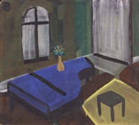 interior with a piano by richard vasmi