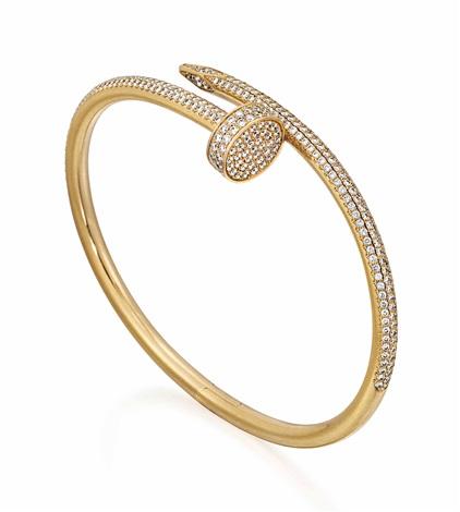 Diamond Juste Un Clou Bangle Cartier By Cartier Co On Artnet